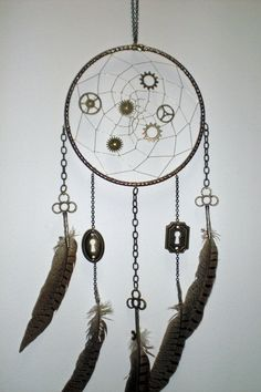 Steam punk dream catcher! The Inner-Workings of a Dream by Ryuzaki-will-live-on