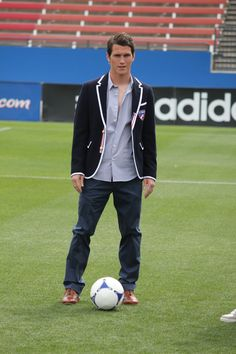 The FC Dallas soccer player Zach Loyd who I am now in love with...