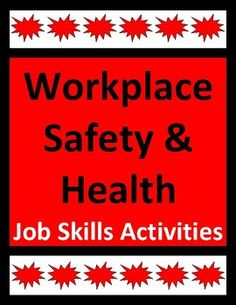 Workplace safety activities help students recognize and avoid job-related hazards. Real-life examples, consequences, and best practices are included in this job skills resource. Engaging supplemental activity packet for CTE, career exploration, transition-to-work, and life skills students.
