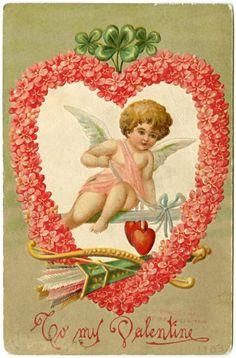 Старинные Валентинки. Поздравления с Днём Святого Валентина прошлого.: ♥ Creative NN. Блог Альбины Рассеиной. ♥