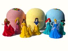 Little Dippers Disney princess surprise bath by thecosmiccompany