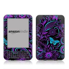 Fascinating Surprise Design Protective Decal Skin Sticker for Amazon Kindle Keyboard / Keyboard 3G (3rd Gen) E-Book Reader - High Gloss Coating by MyGift, http://www.amazon.com/dp/B005OFIHVA/ref=cm_sw_r_pi_dp_zwXMrb1945KEW