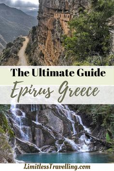 if you are planning to spend your best Epirus Greece Holidays, I've prepared for you the Ultimate 4-day itinerary, developed by local professionals and approved by me | epirus greece | holidays in greece | greek vacation #epirusgreece #greecemainland Travel Ideas, Travel Inspiration, Travel Tips, Luxury Travel, Travel Usa, Greece Holidays, Adventures Abroad, Europe Travel Guide, Worldwide Travel