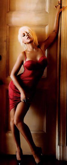 Christina Aguilera- Inspiring or a model pic idea as well.