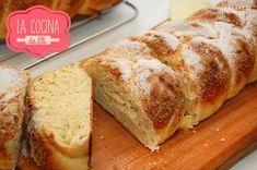 Trenza dulce para la merienda - VIX Pan Bread, Bread N Butter, Brunch Recipes, Sweet Recipes, Mexican Bread, Sin Gluten, Gluten Free, Churros, Thermomix