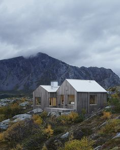 This family vacation cottage on a remote Norwegian island was modeled on traditional boat sheds. It has 3 bedrooms in 1,507 sq ft.   www.facebook.com/SmallHouseBliss