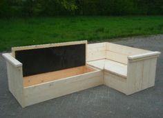 Bouwtekening hoek tuinbank google zoeken houten meubels pinterest met lounges and in - Hoek sofa x ...