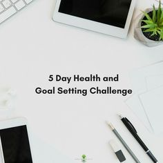 If you want to set a new health goal for 2018. Join me next Monday December 11th for the 5Day Health and Goal Setting Challenge.