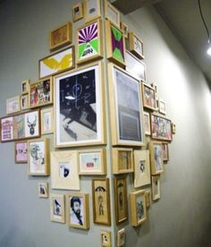 display and frame art - Google Search