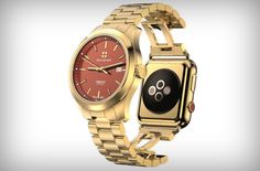 Apple Watch solution for rich people Rich People, Gold Watch, Apple Watch, Watches, Tech, Accessories, Wristwatches, Clocks, Technology