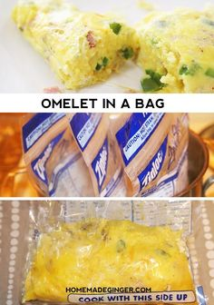Learn how to make omelets in a bag! This recipe is perfect for camping or feeding a crowd and they are so fun to make!