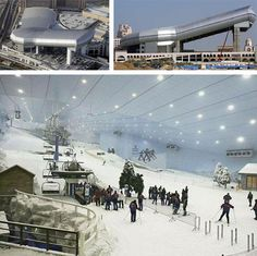 Ski Dubai - I know the hill is lame but I want to do it once just because.