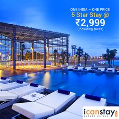 Gone are the days when Luxury was only for the class apart. Now enjoy a Luxury Stay @Rs. 2,999 (Incl. Taxes). Simply say yes, to #icanstay. Buy your voucher today: www.icanstay.com Designed and Developed by PECS - Gone are the days when Luxury was only for the class apart. Now enjoy a Luxury Stay @Rs. 2,999 (Incl. Taxes). Simply say yes, to #icanstay. Buy your voucher today: http://www.planetecomsolutions.com