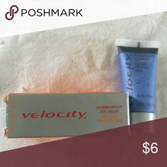 Mary Kay Velocity Shimmerific Eye Color in Blue Color: blue. New unused in package (packaging shows some wear and tear from being stored and moved). Mary Kay Makeup Eyeshadow