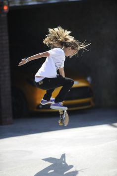 if i ever had a daughter i would want her to be fearless. proud. gravity-defying.