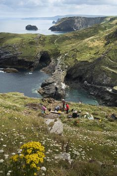 Tintagel Castle Archeology Dig Credit Emily Whitfield Wicks For English Heritage