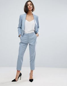 Discover the latest in women's fashion and men's clothing online. Shop from over styles, including dresses, jeans, shoes and accessories from ASOS and over 800 brands. ASOS brings you the best fashion clothes online. Casual Work Attire, Business Casual Outfits, Business Attire, Business Fashion, Work Fashion, Latest Fashion Clothes, Fashion Outfits, Fashion Online, Fashion Night