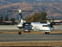 Alaska Airlines (Horizon Air) De Havilland Canada DHC-8-402Q Dash 8 	 San Jose - Norman Y. Mineta International (Municipal) (SJC / KSJC) USA - California, July 25, 2013
