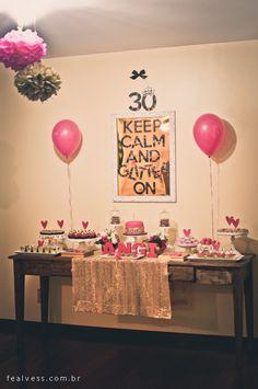 festa 30 anos - em casa                                                                                                                                                      Mais