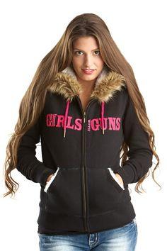 GWG Fur Hoodie - Final Sale