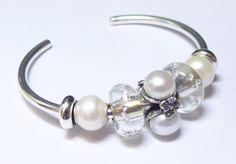 Wonderful Christmas Trollbeads bangle bracelet.
