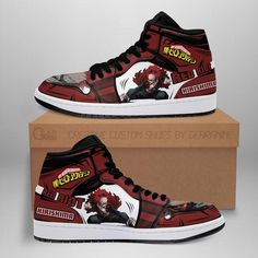 Air Force Shoes, Air Jordan Shoes, Jordan Sneakers, High Top Sneakers, Basketball Sneakers, Anime Inspired Outfits, Anime Outfits, Custom Sneakers, Custom Shoes