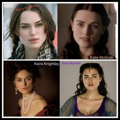 Do you see what I see? Katie McGrath - Keira Knightley