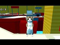 Cat Simulator. Giocando con un piccolo gattino. Simulatore dei gatti gio...
