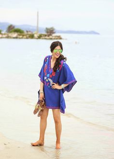 10 Perfect Outfits to Wear to The Beach, Beach Outfits, Need to upgrade your beachwear this summer? These 10 fashion outfits will make you want to step up your beach style game. Can dress for day or night. Mexico Beach Outfits, Beach Outfits Women Vacation, Plus Size Beach Outfits, Summer Outfits, Cute Outfits, Outfit Beach, Honeymoon Style, Vacation Style, Beach Kimono