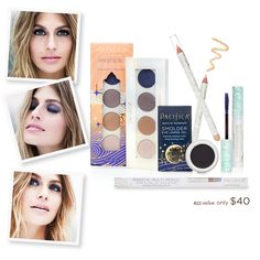 One of our stunningly beautiful muses Annie McGinty <3 Launching today at pacificabeauty.com our NEW Magical Eye Pencil Set ! Create your perfect smoky, sultry eye with our NEW Magical Multi-use Pencil.  A $53 value offered at $40!