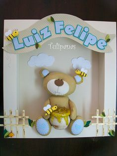 Seja bem vindo Luiz Felipe!! by Tulipanas, via Flickr