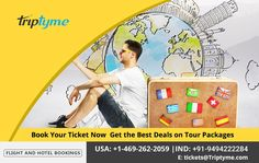 Claim the lowest airfares with our great deals on flight ticket bookings to your favorite destinations around the globe. Lowest Airfares, Flight And Hotel, Ticket, Travel Tips, Globe, Destinations, Packaging, Tours, Good Things