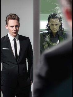 the hidden face of...Tom ?... or Loki ?...  :)
