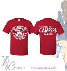#xiboutique custom Alpha Xi Delta shirt. Email custom@xiboutique.com to order!