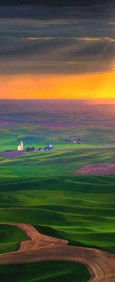 The Palouse country of eastern Washington