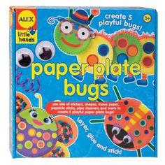 Alex Toys Paper Plate Bugs, Alex Little Hands Art Series $10.54