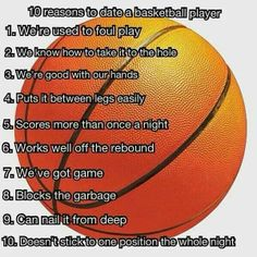 Benefits of dating a basketball player