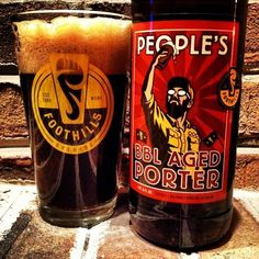 Barrel Aged People's Porter by Foothills Brewing