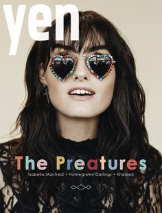 Yen Issue 76: The homegrown issue is a big cheers to all things Aussie. There are sharks, native flowers, a pie and loads of interesting, creative Australians, like comedian Judith Lucy and the bright young things of the Australian music scene, including cover star Isabella Manfredi of The Preatures.
