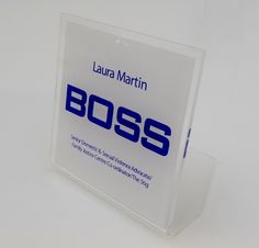 Office signs the boss desk sign http://www.de-signage.com/Officesigns.php