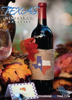 Celebrate October Texas Wine Month! Find a Texas winery or event at texaswineandtrail.com