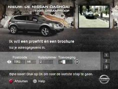 Nissan Qashqai Interactive TV Commercial