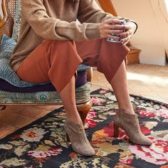 5b4802ea27d83 Prendre le temps de prendre son temps avec nos bottines Elyes, ultra  féminine ! Existe