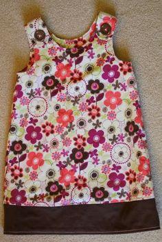 Flannel Dress Tutorial