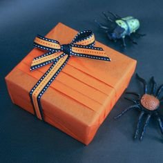 Halloween Gift wrapping by Jane Means