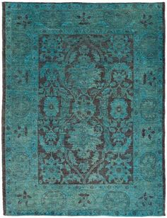 dyed antique rugs