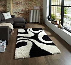 Black & White Rug Design