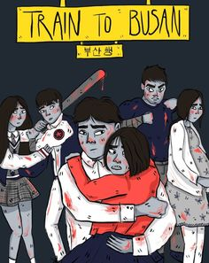 Train to Busan by Morag Illustration