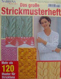 Sabrina Special - Das grosse Strickmusterheft-N3 - NALAN - Álbumes web de Picasa