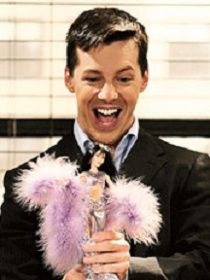 "Jack from Will & Grace. Favorite episode with the Cher doll!! ""If I could turn back tiiimmee""  LOL!"